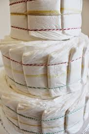love and lion diaper cake tutorial