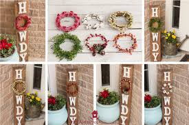 diy howdy front porch pallet sign with interchangeable seasonal