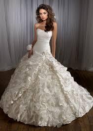 beautiful wedding gowns beautiful wedding dress with strapless ipunya