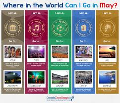 infographic where in the world can i go in may hostelbookers