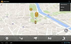 radar alarm android apps on google play