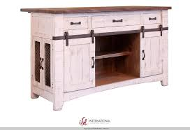 3 drawer kitchen island w 2 sliding doors 2 mesh doors on each