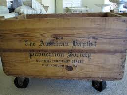 remodelaholic great looking storage wooden antique crate with