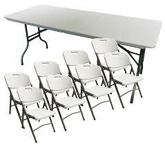Heavy Duty Outdoor Folding Chairs 6 Feet Folding Heavy Duty Banquet Trestle Table Chairs Outdoor