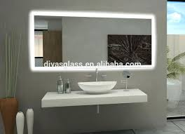 led backlit mirror bathroom led light mirror touch sensor switch