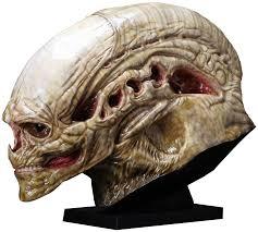 alien resurrection alien newborn 1 1 scale life size head prop