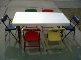 kids fold up table and chairs childrens folding table and chair set facil furniture