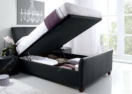 Ottoman Storage Beds Uk by Linea Design Kaydian Allendale Leather Ottoman Storage Bed
