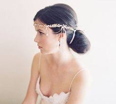 forehead bands arianna bridal headpiece ar372 jewelled brow band style with