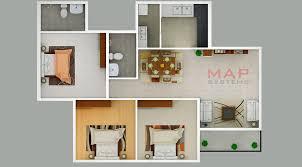3d floor plan design services portfolio