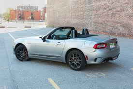 2017 fiat 124 spider abarth review u2013 a tale of two drivers