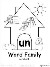 27 best word family images on pinterest kindergarten worksheets