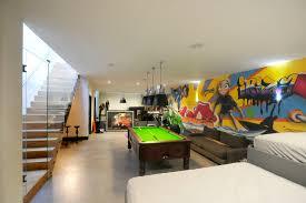 Cool Ideas For Basement Home Design Cool Basement Game Room Ideas For Modern Basement