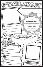 all about me printable coloring book page coloring home