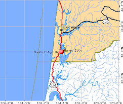 map of oregon dunes dunes city oregon or 97439 97493 profile population maps