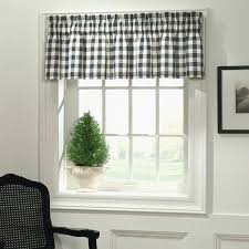 Checkered Kitchen Curtains Black And White Checkered Kitchen Curtains Impressive Black And