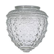Pineapple Light Fixtures Clear Pineapple Glass Shade 3 1 4 Inch Fitter Opening 50 112