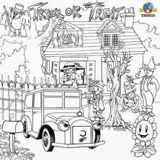 hard halloween coloring pages az in throughout difficult