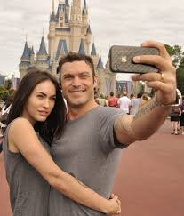 photos megan fox at disney world s magic kingdom for thanksgiving