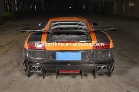 lamborghini gallardo rear d style lp550 lp560 lp570 carbon fiber rear bumper for lamborghini