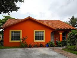 orange house paint 45degreesdesign com