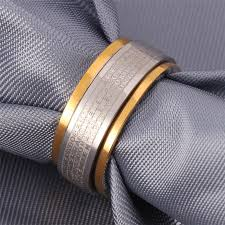 bible verse jewelry aliexpress buy u7 fashion 316l stainless steel ring for men