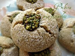 cuisine alg駻ienne gateaux recettes recette gâteaux algériens ghribiya aux pistaches