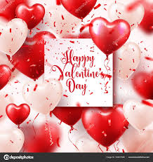 wedding wishes background s day abstract background with 3d balloons and