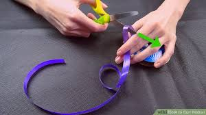 curling ribbon 3 ways to curl ribbon wikihow