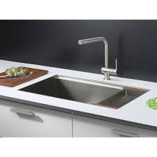 Single Bowl Kitchen Sink Undermount Ruvati Rvh8300 Roma Stainless Steel Undermount Single Bowl Kitchen