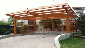 tettoia legno auto tettoia per posto auto in legno carport proverbio outdoor design