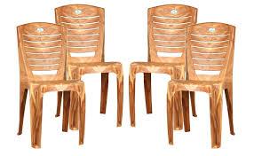 neelkamal dining table nilkamal armless chairs set of 04 pear wood u2013 homegenic