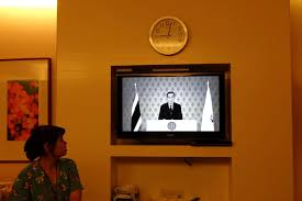 thailand replaces all tv channels with monochrome palace broadcast