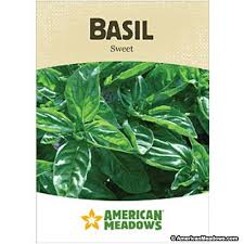 cheap seed packets basil seed packet american