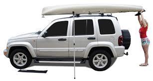jeep kayak rack rhino rack rusl rhino universal side loader rack outfitters