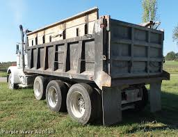 white volvo truck 1987 volvo white autocar dump truck item k1119 sold oct