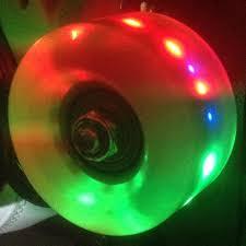 light up roller skate wheels light up roller skate wheels green 57mm set of 4 brilliant