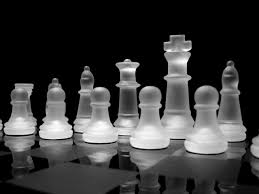 White Chess Set Chess Wallpaper Wallpapers Browse