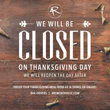 4 rivers smokehouse on hey 4r fans we will be closed on