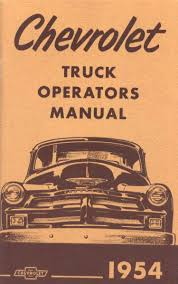 general motors trucks and vans brochures