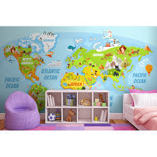 Cartoon World Map by Marine Animals World Map Prices Of Photo Prints Trendythings