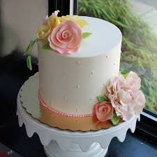 wedding cake idea the single layer cake u2014 cheryl barker