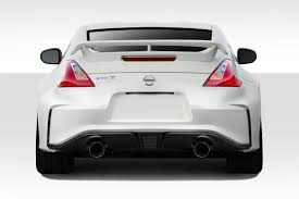 nissan 370z custom body kit 2009 2016 nissan 370z duraflex n 3 rear bumper cover 1pc 112275