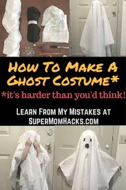 how to make a ghost costume it u0027s harder than you u0027d think ghost