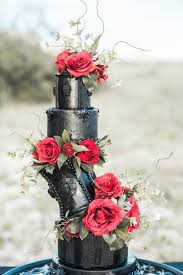 red and black halloween wedding ideas