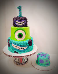 monsters university cake cups cakes monster