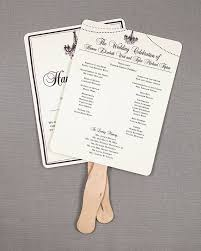 Rustic Wedding Program Fans Rustic Wedding Program Fans With Elegant Chandelier And String