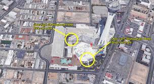 Map Of Las Vegas Strip Casinos by Stratosphere Hotel U0026 Casino Uber Lyft Pickup Dropoff Point Las Vegas