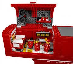 lego ferrari speed champions lego speed champions 75913 pas cher f14 t et son camion scuderia