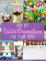 Easter Decorations by Easy Diy Easter Decorations For Your Home Toilettree Products